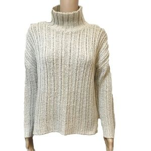 Divided H&M XS chunky boxy turtleneck sweater